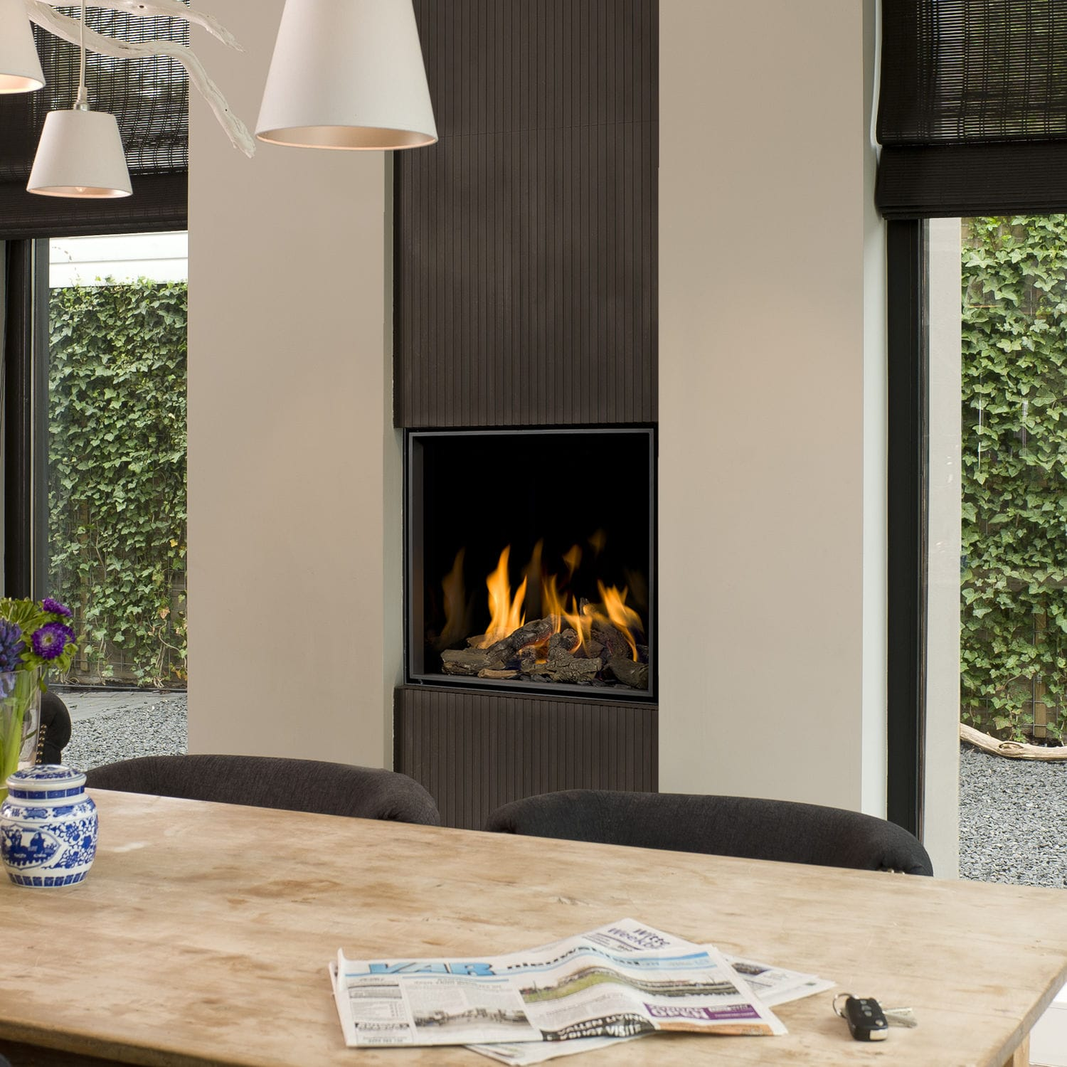 hearth fireplace boley open built gas in contemporary product prod