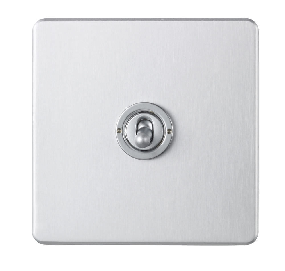 Light Switch Push Button Toggle Quadruple Classic Wandsworth
