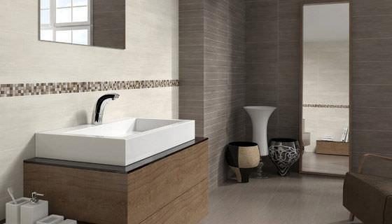 salle de bain marron et beige salle de bain marron taupe et lin decoration - Salle De Bain Marron Taupe