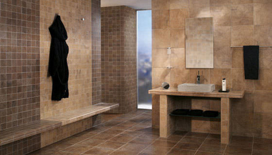 Indoor Tile / Bathroom / Floor / Porcelain Stoneware   INDIA
