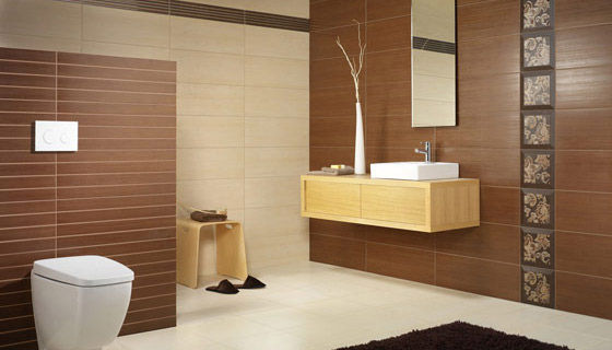 Indoor Tile Bathroom Wall Ceramic Silk
