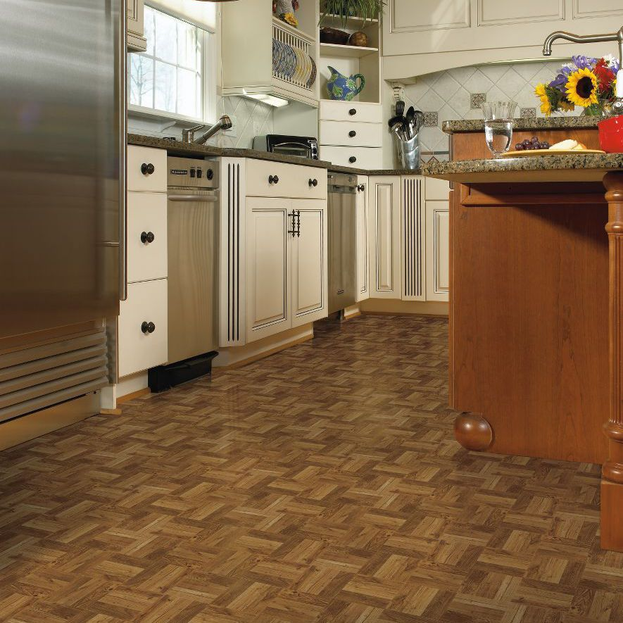 Tile Look Vinyl Part - 27: Vinyl Flooring / Residential / Tile / Wood Look - CRISWOOD: RUSSET OAK