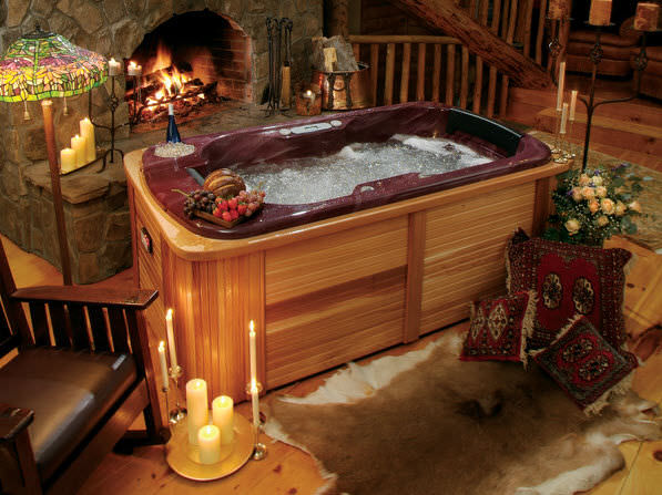 Above Ground Hot Tub / Rectangular / 2 Seater GEMINI Thermo Spas ...