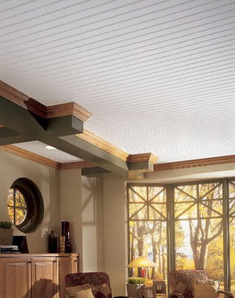Armstrong wood strip ceiling