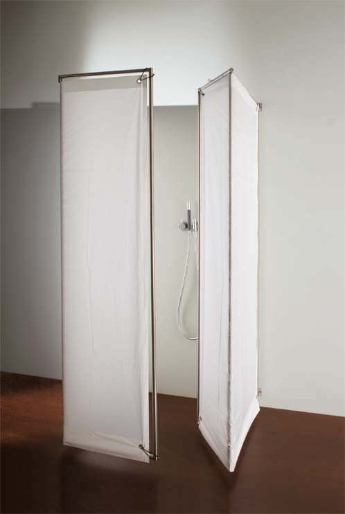 Folding shower screen - IMA by Peter Bchele