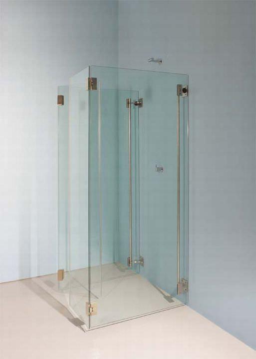 Folding shower screen / corner - MIMI by Peter Bchele