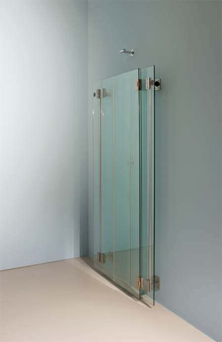 Folding shower screen / corner MIMI by Peter Bchele Rapsel ...