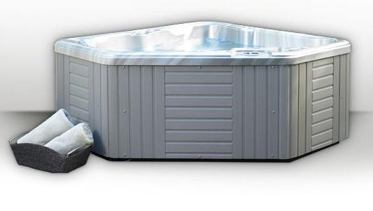 2 person corner hot tub. Above ground hot tub  corner 2 seater AVENTINE Caldera Spas