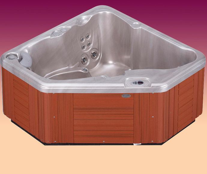 Above-ground hot tub / corner / 2-seater - AVENTINE® - Caldera Spas