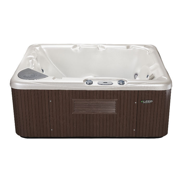 Above-ground hot tub / rectangular / 2-person - 520 - Beachcomber ...