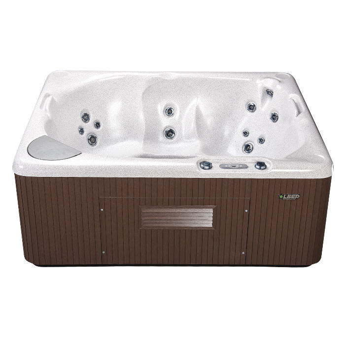 Above-ground hot tub / square / 7-person - 340 - Beachcomber Hot Tubs