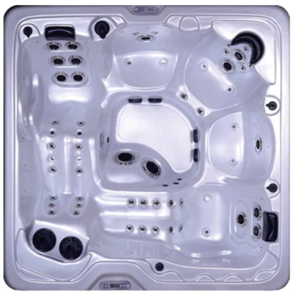Built-in hot tub / square / 5-person - 5880 GEMINI - Spa Crest Hot Tubs
