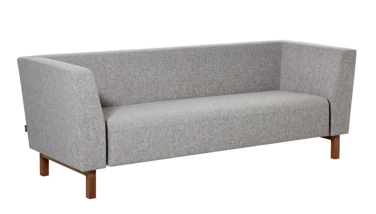 Contemporary sofa / fabric / 2-person / violet - GAP LOUNGE ...