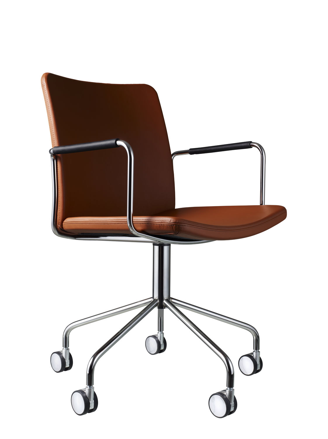 contemporary office chair on casters stackable upholstered