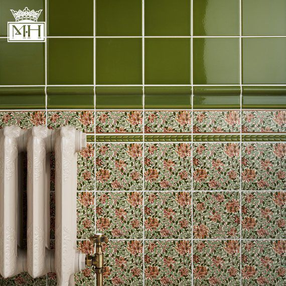 Unusual 12X12 Ceramic Tile Small 2 X 8 Subway Tile Clean 20 X 20 Floor Tiles 20X20 Floor Tile Young 2X2 Ceiling Tiles Home Depot Brown4 X 12 Ceramic Subway Tile  Floral   ABSOLUTE : MINTON HOLLINS ..