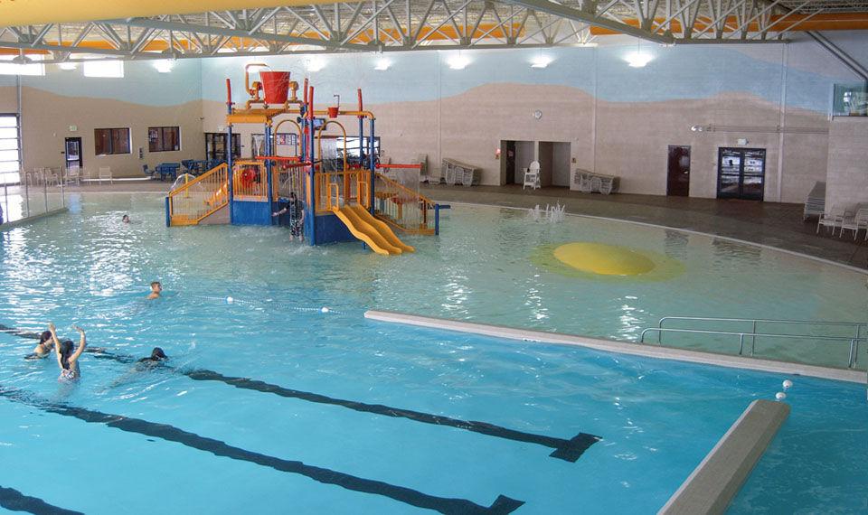 Indoor public pool  Concrete competition pool / public / indoor - CEDAR CITY COMMUNITY ...