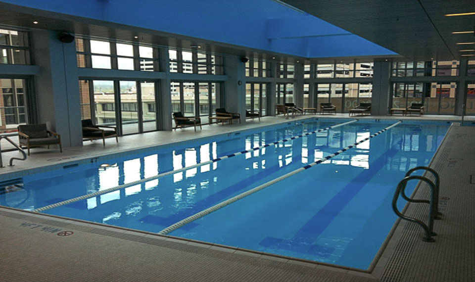 Indoor Public Swimming Pool in-ground swimming pool / stainless steel / public / indoor - city