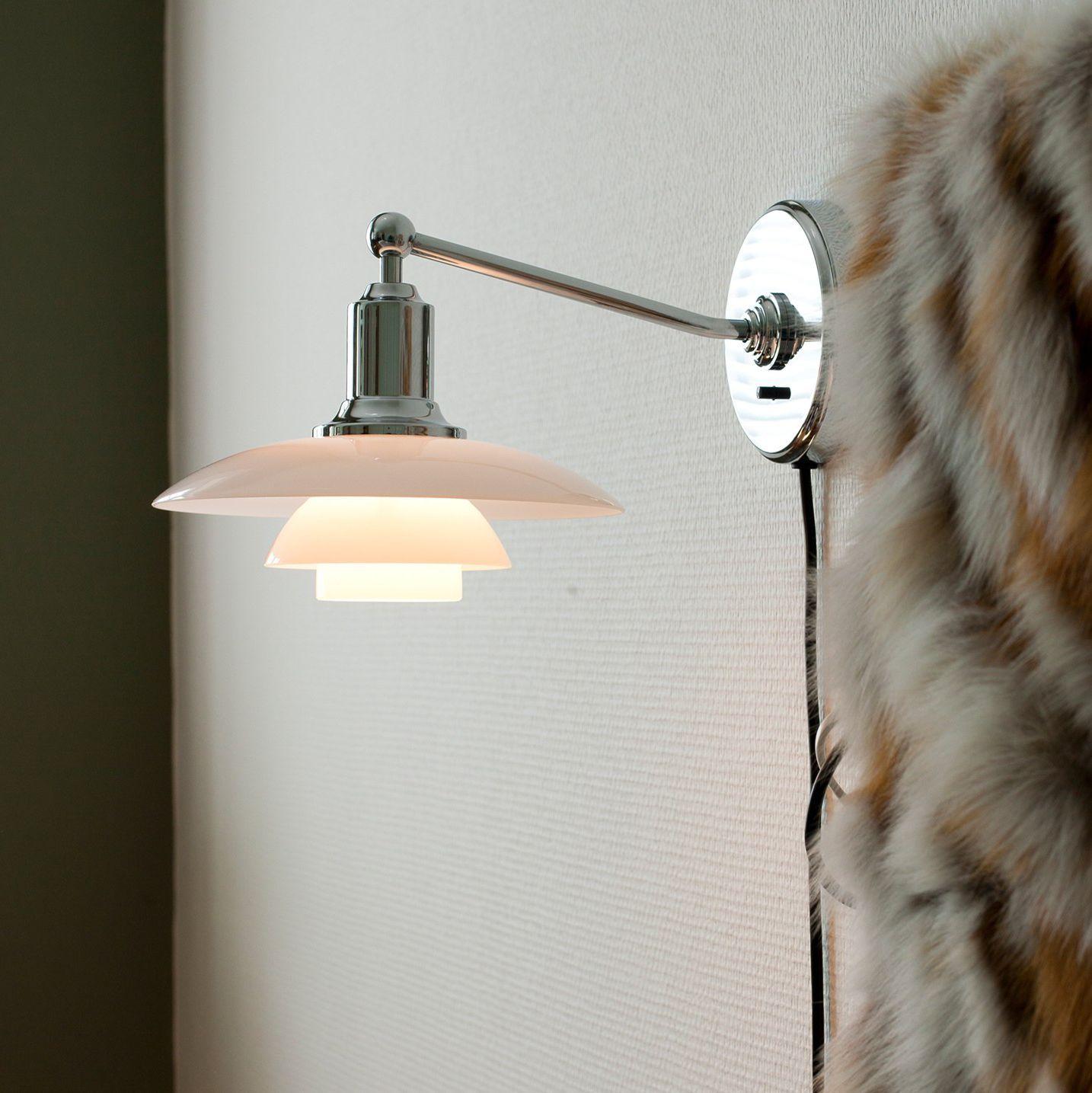 ph lighting. contemporary wall light glass aluminum brass ph 21 by poul henningsen ph lighting