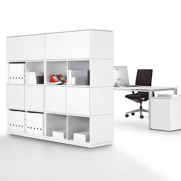 Modular bookcase / high / low / minimalist design - WINEA MATRIX ...