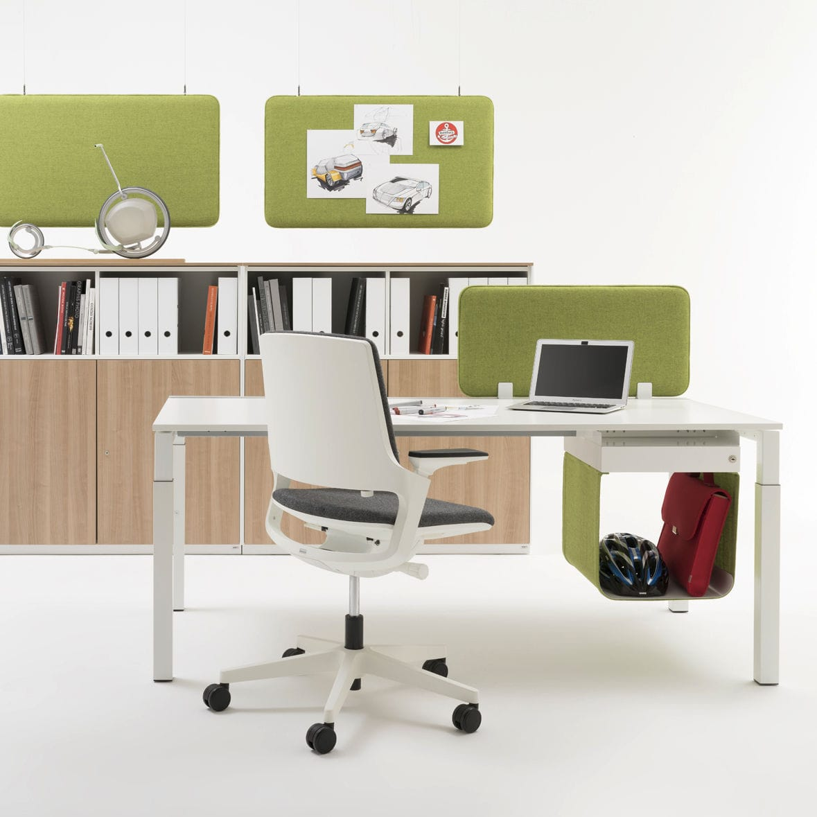Steel office unit / 3-drawer / 2-drawer - WINEA TOOLZ MYBOX by Uwe ...