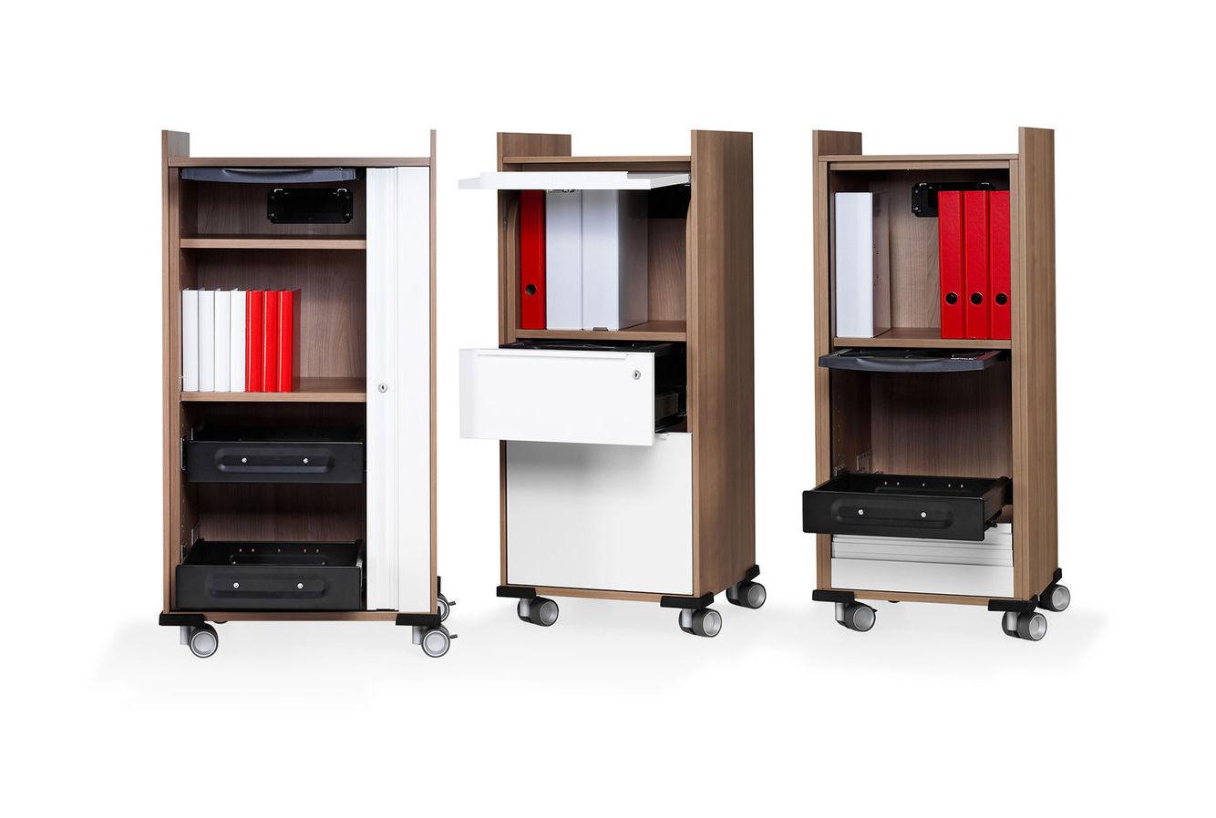 Office service trolley / wood veneer / commercial - WINEA MAXX ...