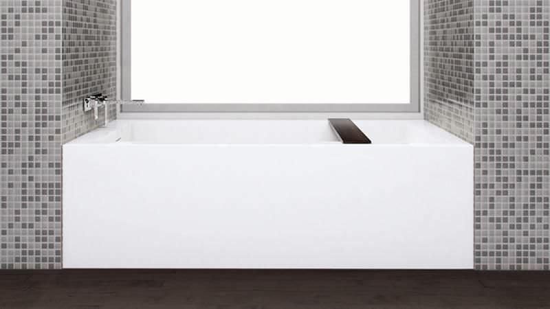Builtin Bathtub Composite CUBE BC WETSTYLE - Wet style bathroom