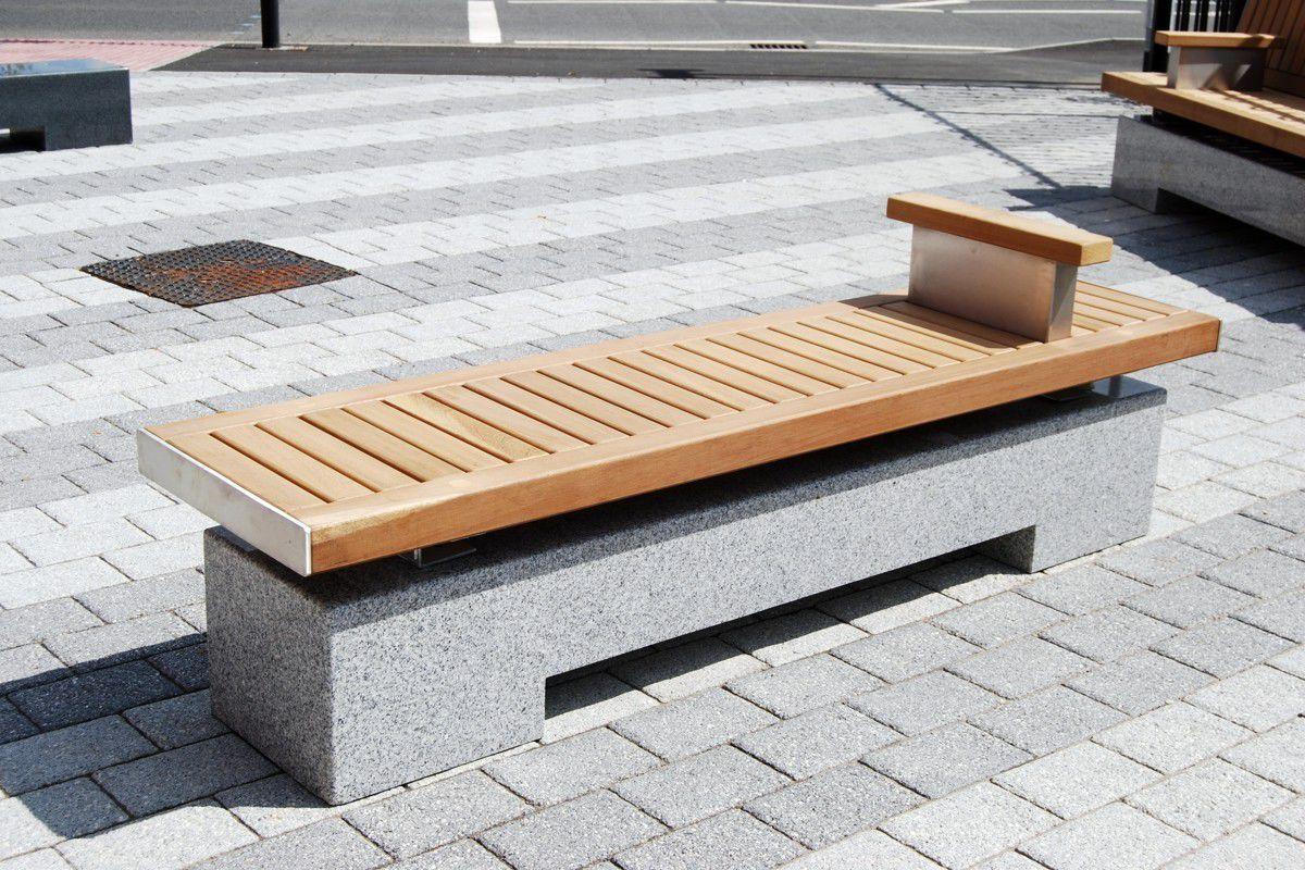 public bench  contemporary  wooden  galvanized steel  sheldon  - public bench  contemporary  wooden  galvanized steel sheldon streetdesign