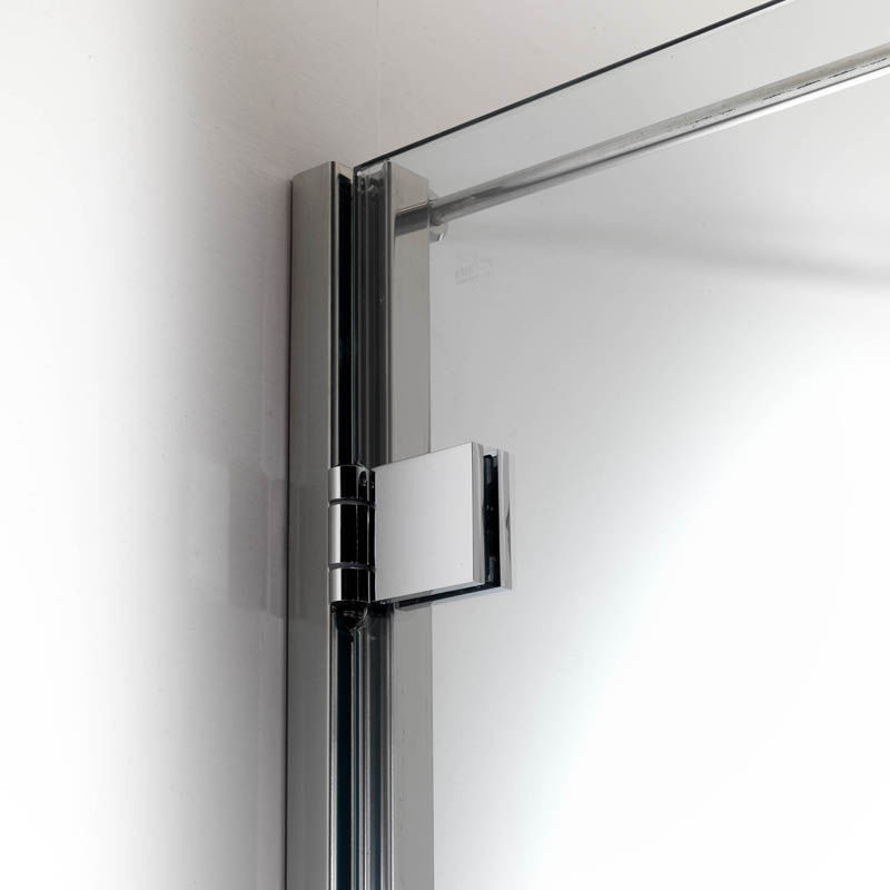 Swing shower screen / corner - DUNA: D1 - Bianchi & Fontana