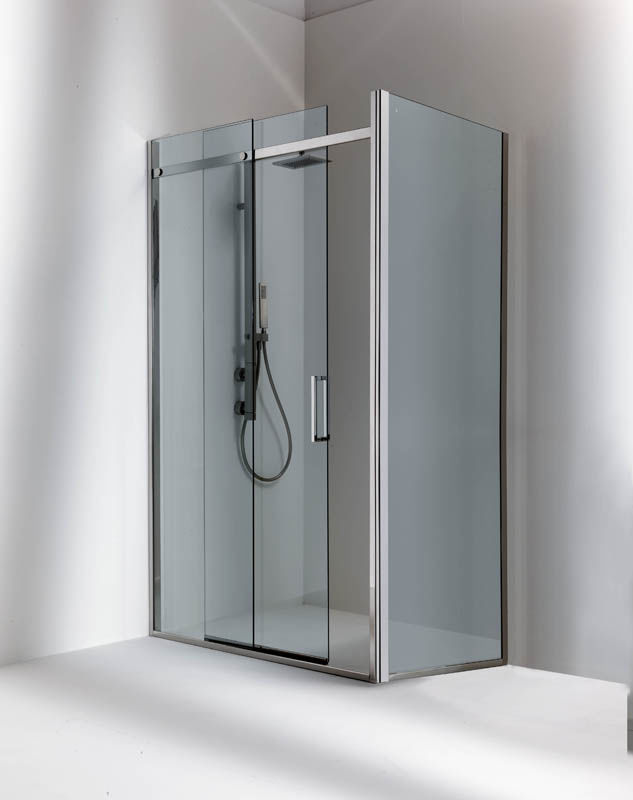Sliding shower screen - DUNA: M1 MISTRAL - Bianchi & Fontana