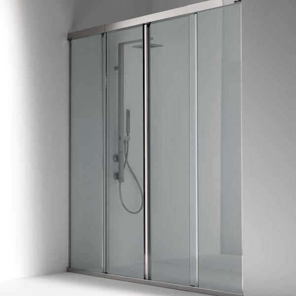 Sliding shower screen / for alcoves - OASI: 101…C - Bianchi & Fontana