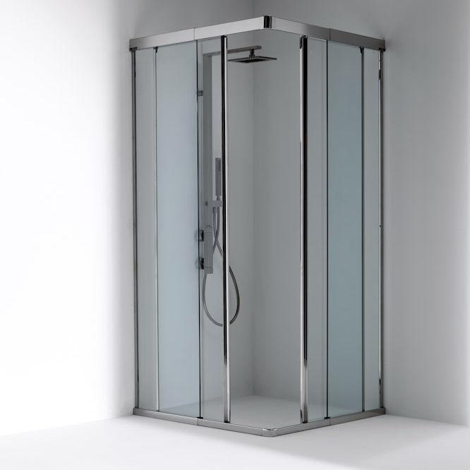 Sliding shower screen / corner - OASI: 2 - Bianchi & Fontana