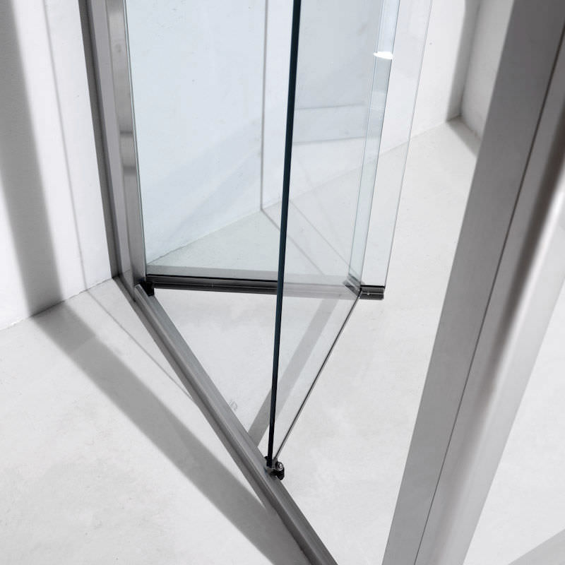 Folding shower screen / corner - VELA: F - Bianchi & Fontana