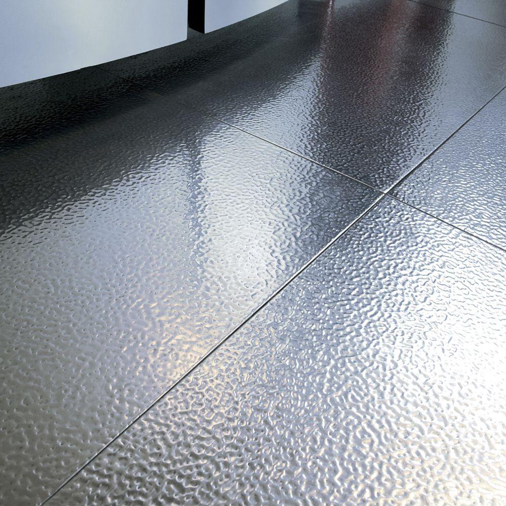 Indoor tile / floor / steel / rectangular - AP01 Lay Floor - Planium