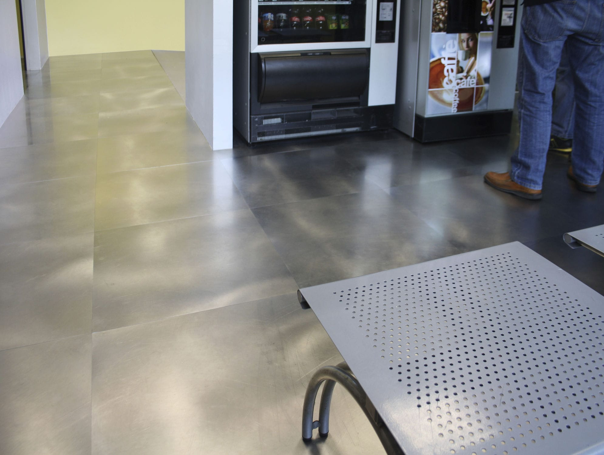 Metal floor tiles floor and decorations collections floor and indoor tile floor metal plain pl01 invisible stainless indoor tile floor metal plain shiifo dailygadgetfo Image collections