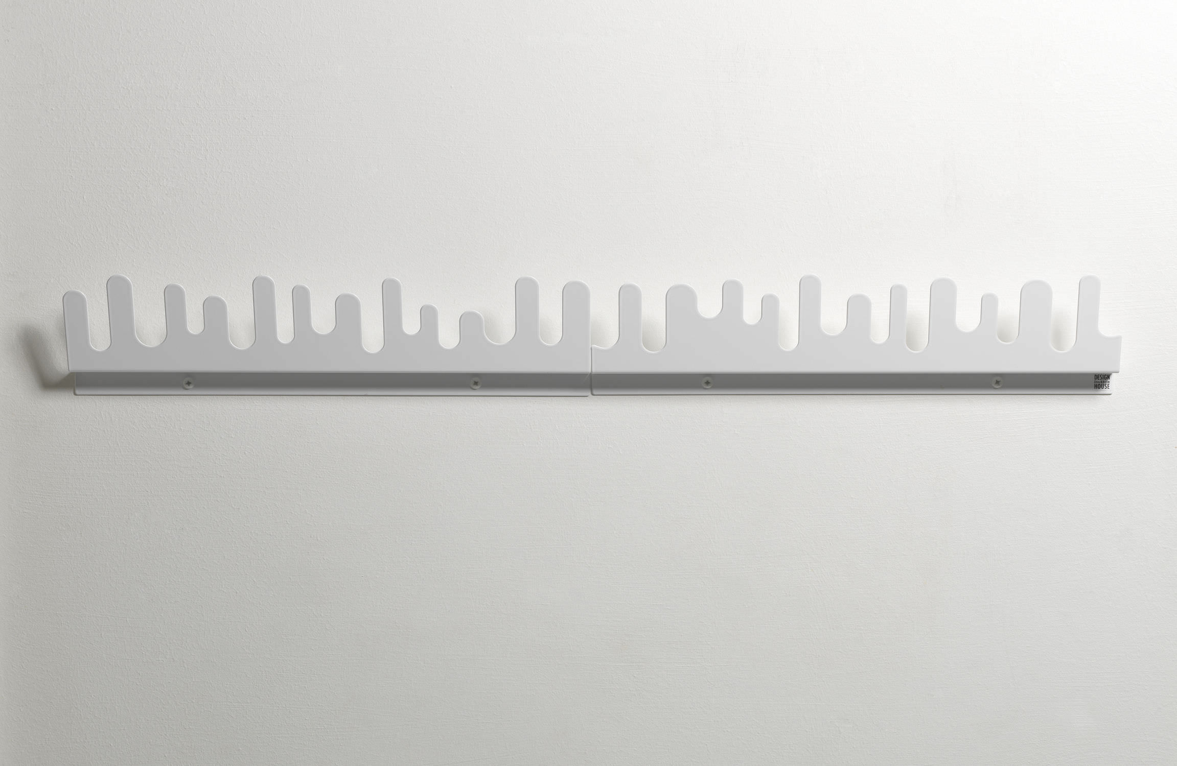 wallmounted coat rack  contemporary  metal  wave by nanni  -  wallmounted coat rack  contemporary  metal wave by nanni holéndesign house stockholm