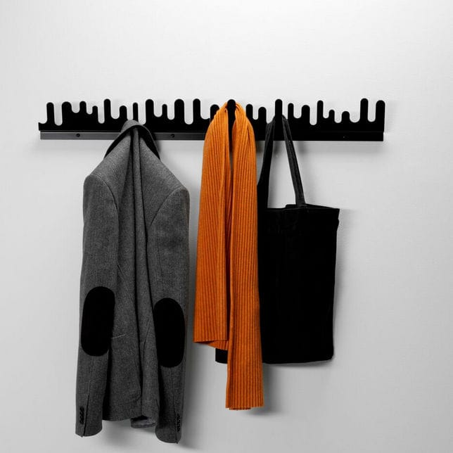 Wallmounted Coat Rack Contemporary Metal WAVE By Nanni Holén Awesome Wave Coat Rack
