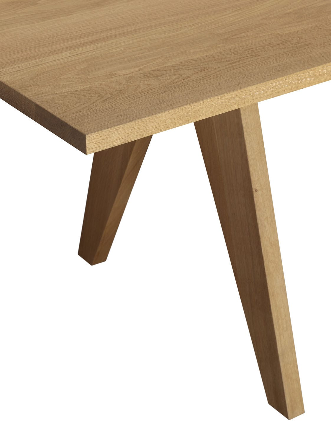Contemporary dining table / oak / solid wood / oiled wood - FK06 ...
