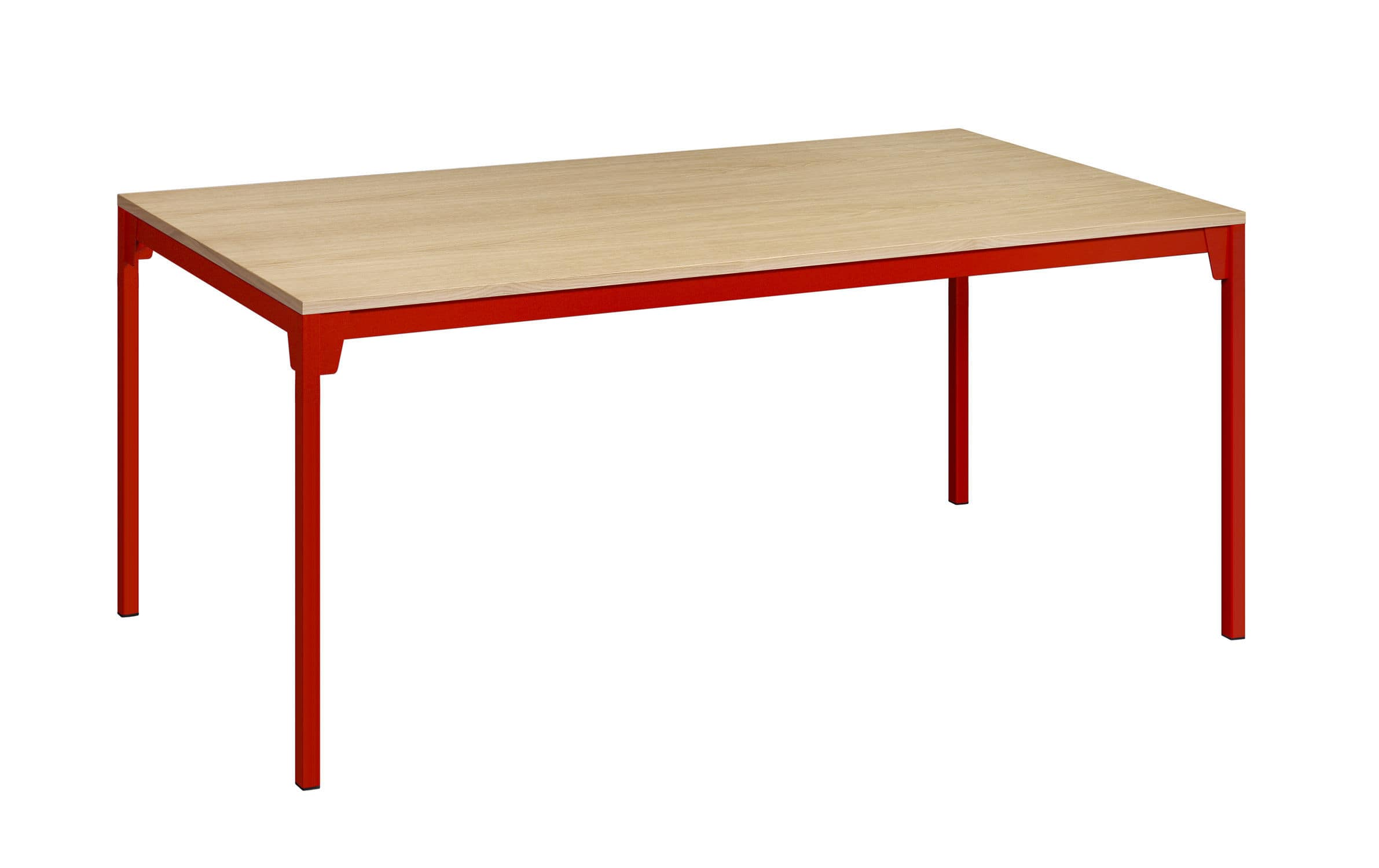 Ferdinand Kramer contemporary table steel oak lacquered wood fk07 frankfurt