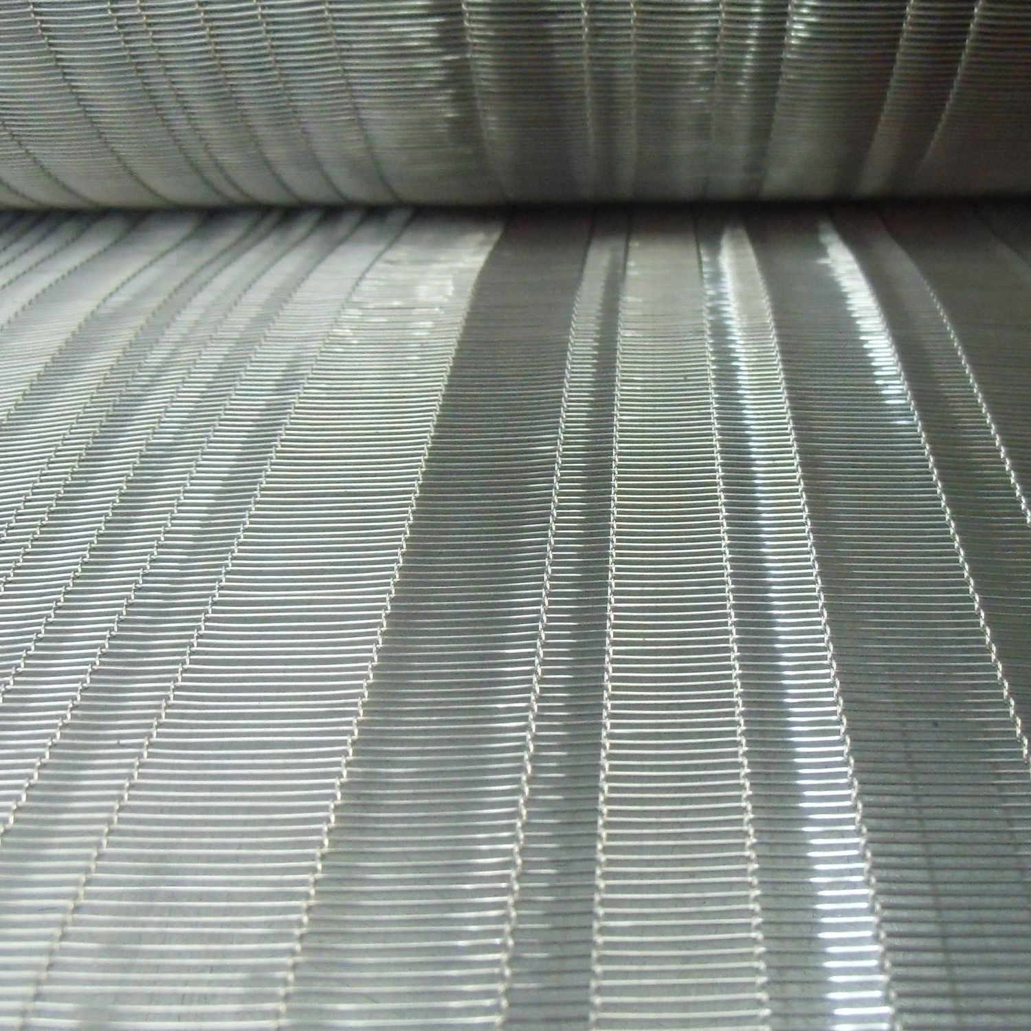 Partition wall woven wire fabric / copper / close-knit mesh - LINER ...