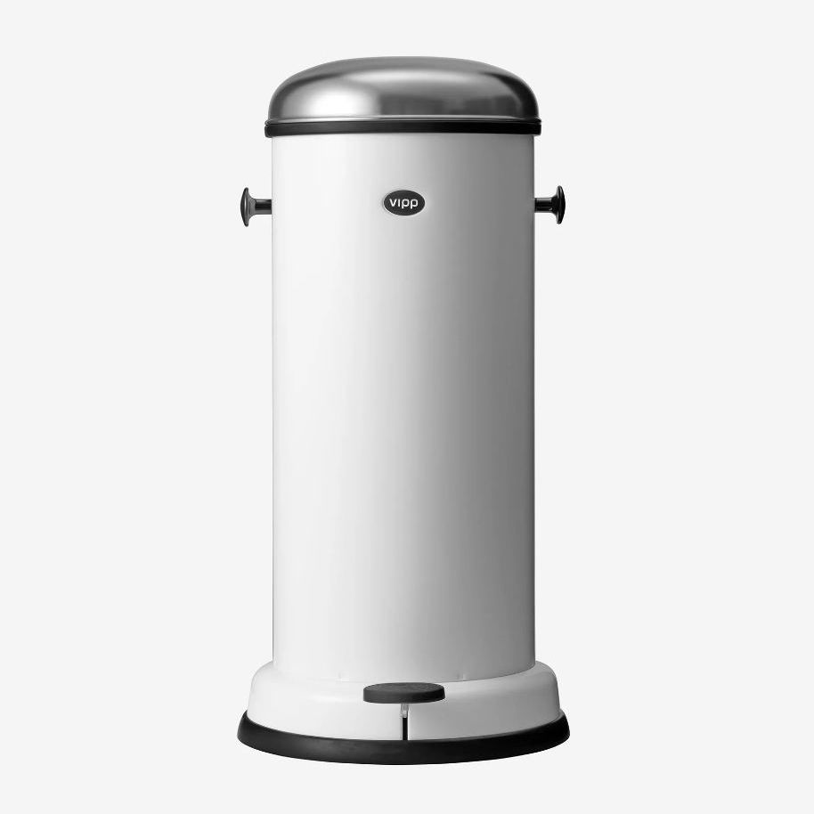 Kitchen trash can / stainless steel / steel / foot-operated - VIPP17 ...