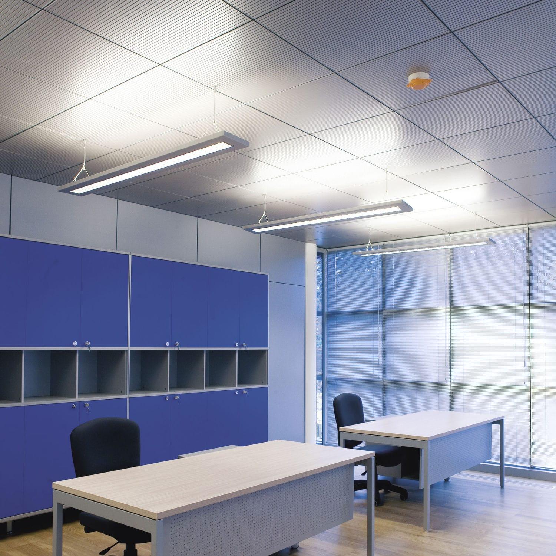 Aluminum suspended ceiling / melamine / MDF / panel - CLIMACUSTIC ...