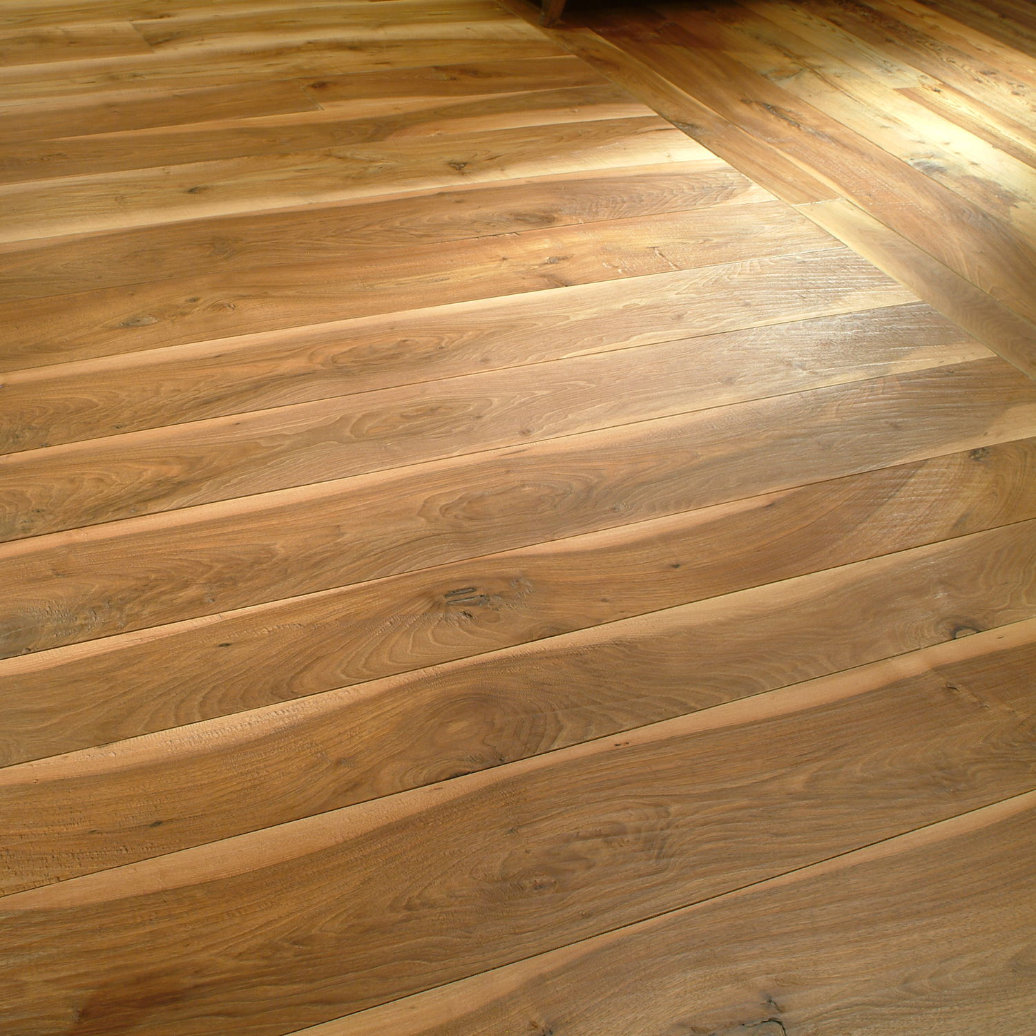 Engineered Parquet Floor Glued Antique Walnut Oiled Old