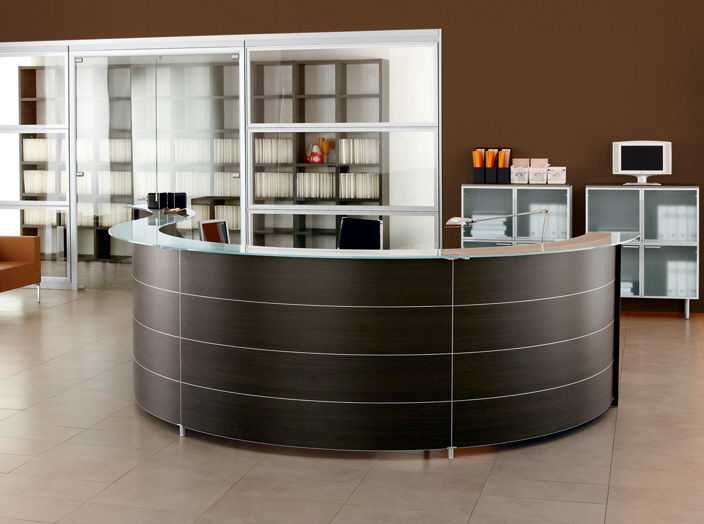 High End Modern Counter Front Desk,Modular Used Salon/office ...