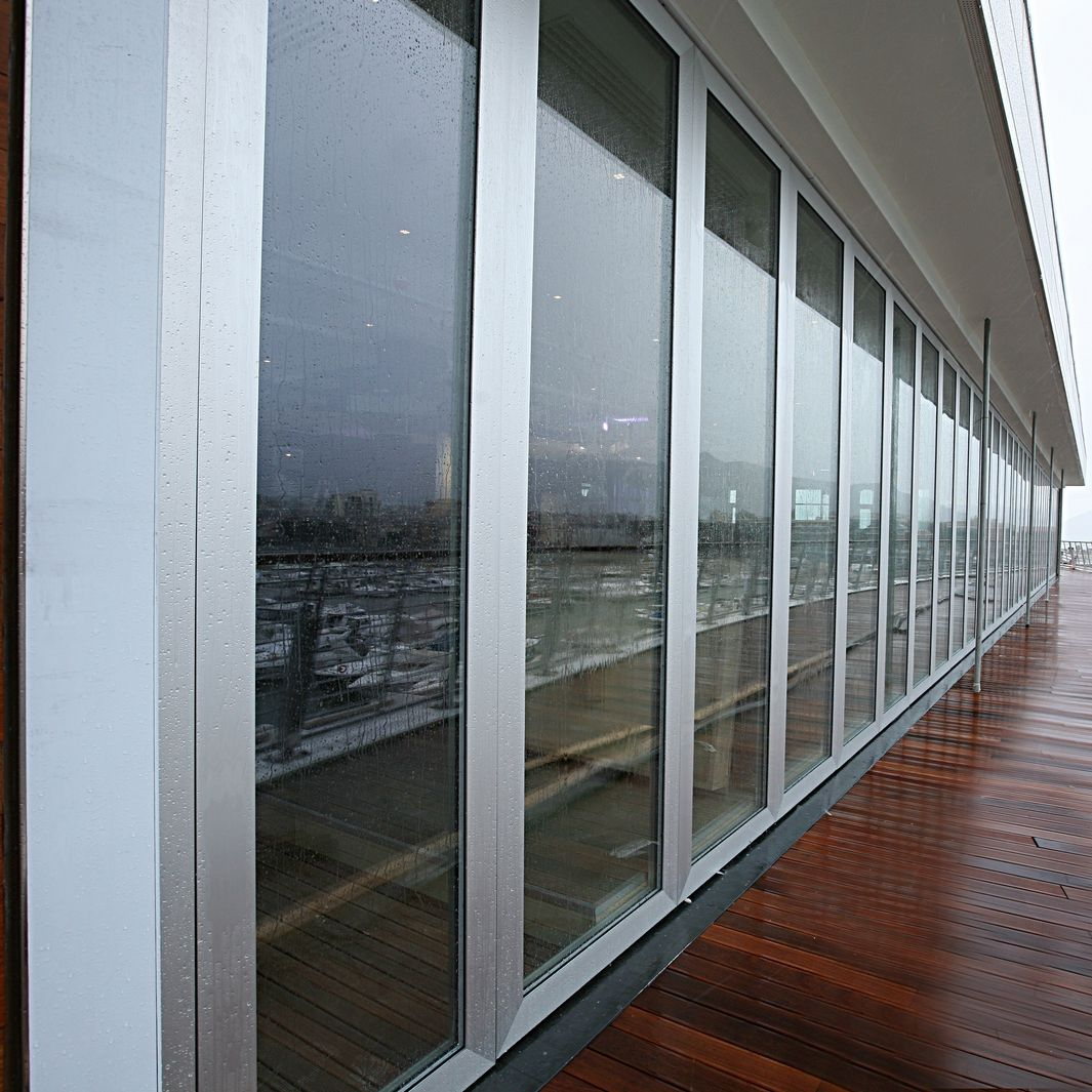 Sliding Patio Door / Aluminum / Acoustic / Thermally Insulated   PMITT
