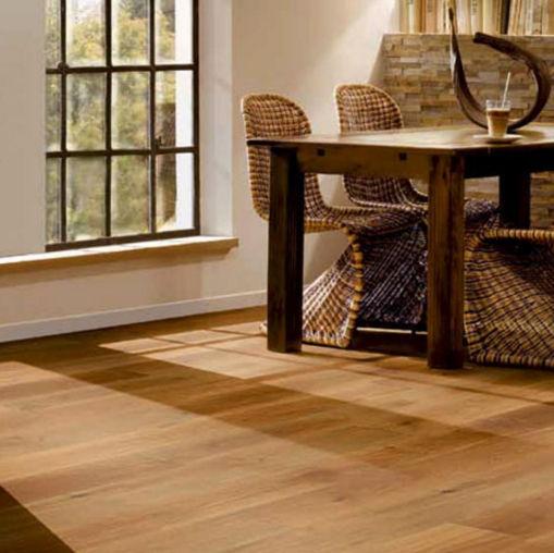 Engineered wood flooring / floating / brushed / varnished - ROVERE ...