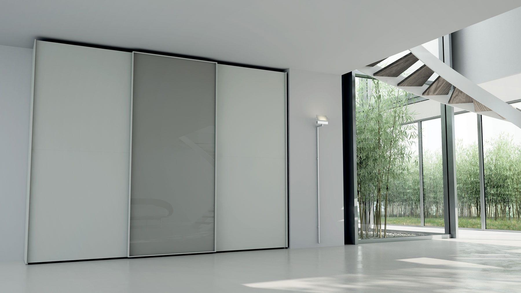 ... contemporary wardrobe / wooden / with sliding door & Contemporary wardrobe / wooden / with sliding door - LOOM - CACCARO