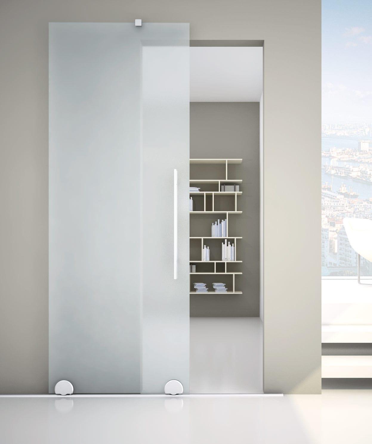 Glass Sliding Door System Rolling Naked R 1200 Metalglas