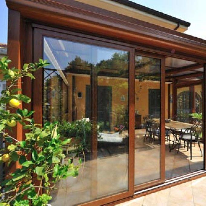 Sliding Patio Door Aluminum Double Glazed S 70 Sunroom