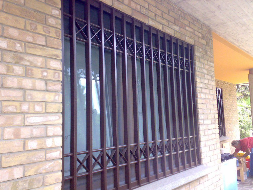 Window Security Grill For Doors