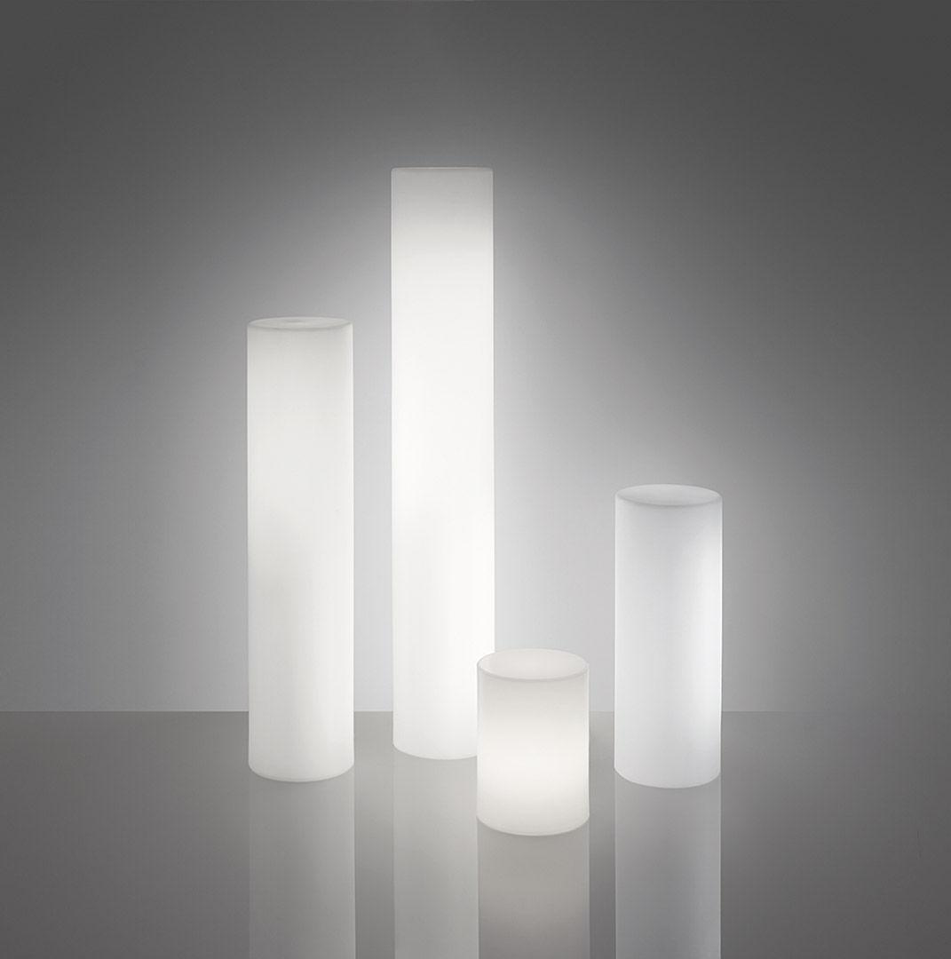 contemporary indoor lighting. Contemporary Light Column / Polyethylene Fluorescent Indoor Lighting